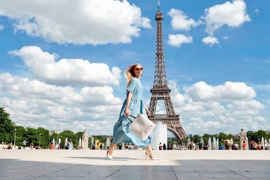 フランス パリのエッフェル塔